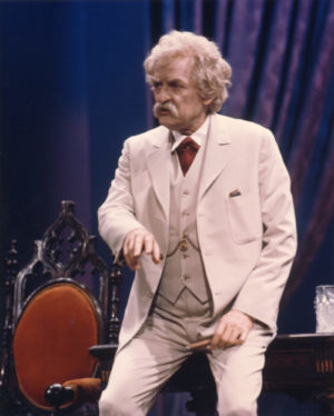 Mark Twain Tonight Hal Holbrook