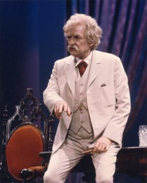 Mark Twain Tonight Hal Holbrook