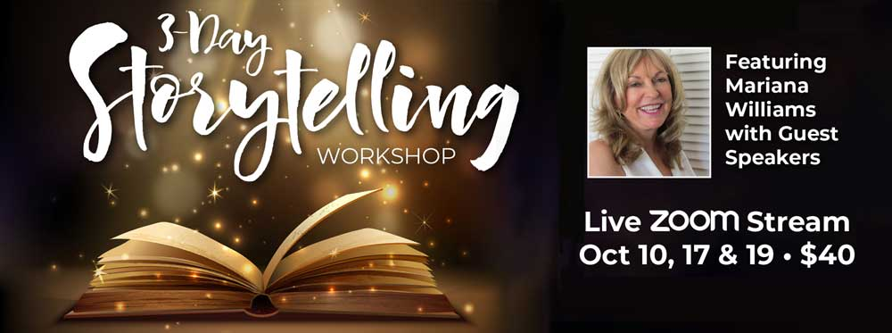 Mariana Williams 3 Day Storytelling Workshop
