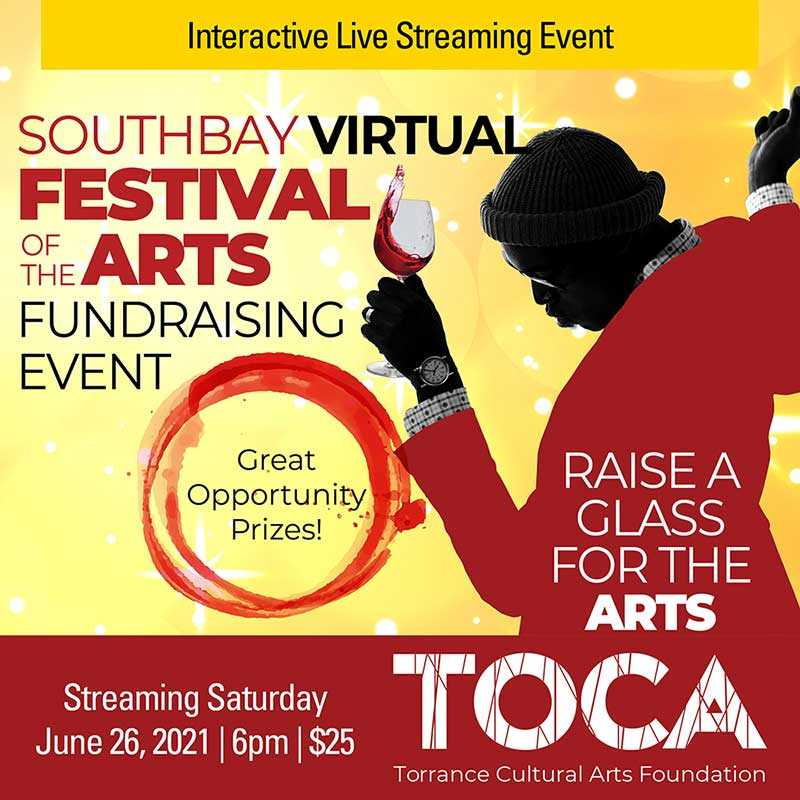 SouthBay Virtual Festival of the Arts Fundraising Event