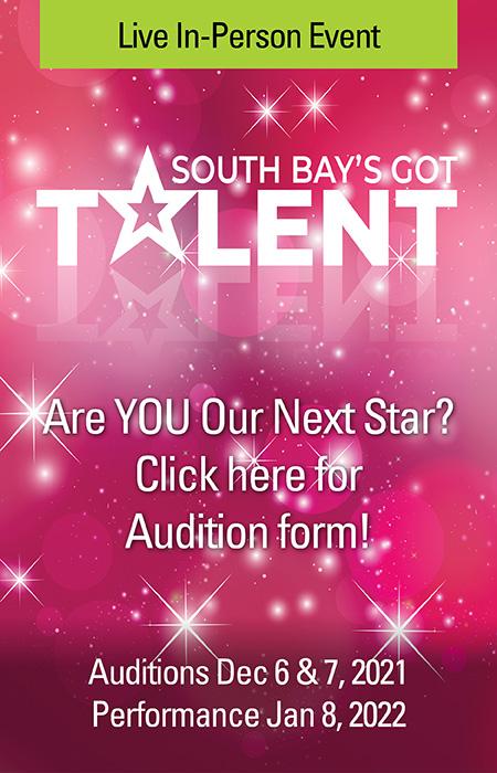 South Bay's Got Talent Audition Form
