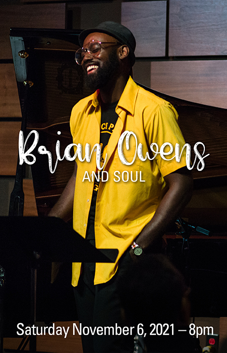 Brian Owens and Soul 11/6/21 - 8pm
